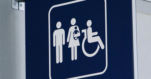 Family Restrooms Sign - Photo by Adam Fagan, Creative Commons License