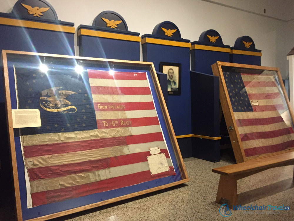 Flag Collection, Indiana War Memorial
