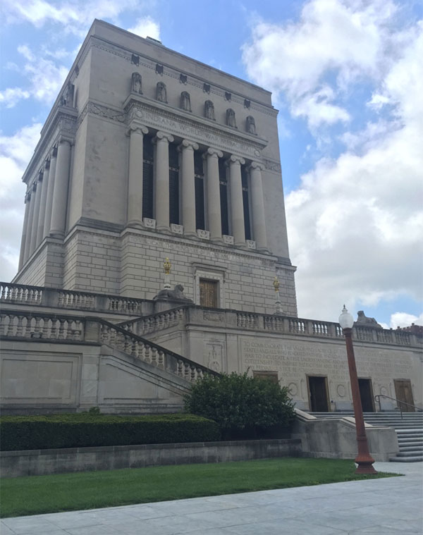 Indiana War Memorial Wheelchair Access