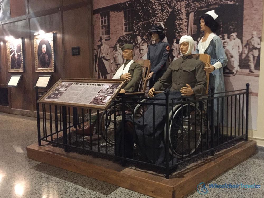 Nurse Corps Wheelchair Memorial