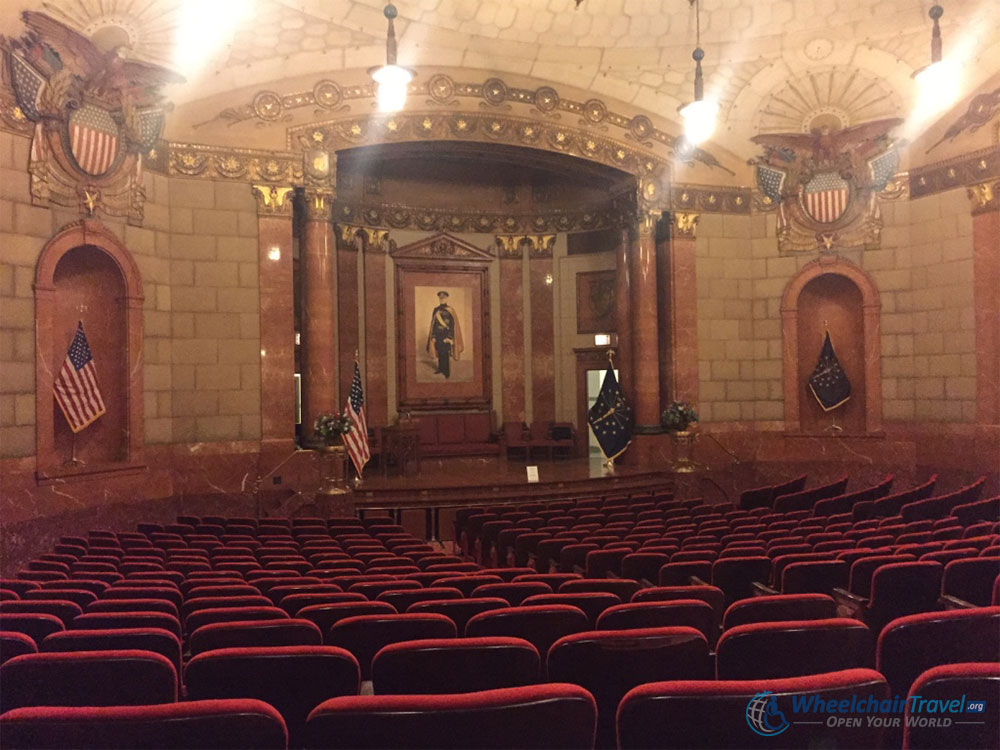 John J. Pershing Auditorium at the Indiana War Memorial