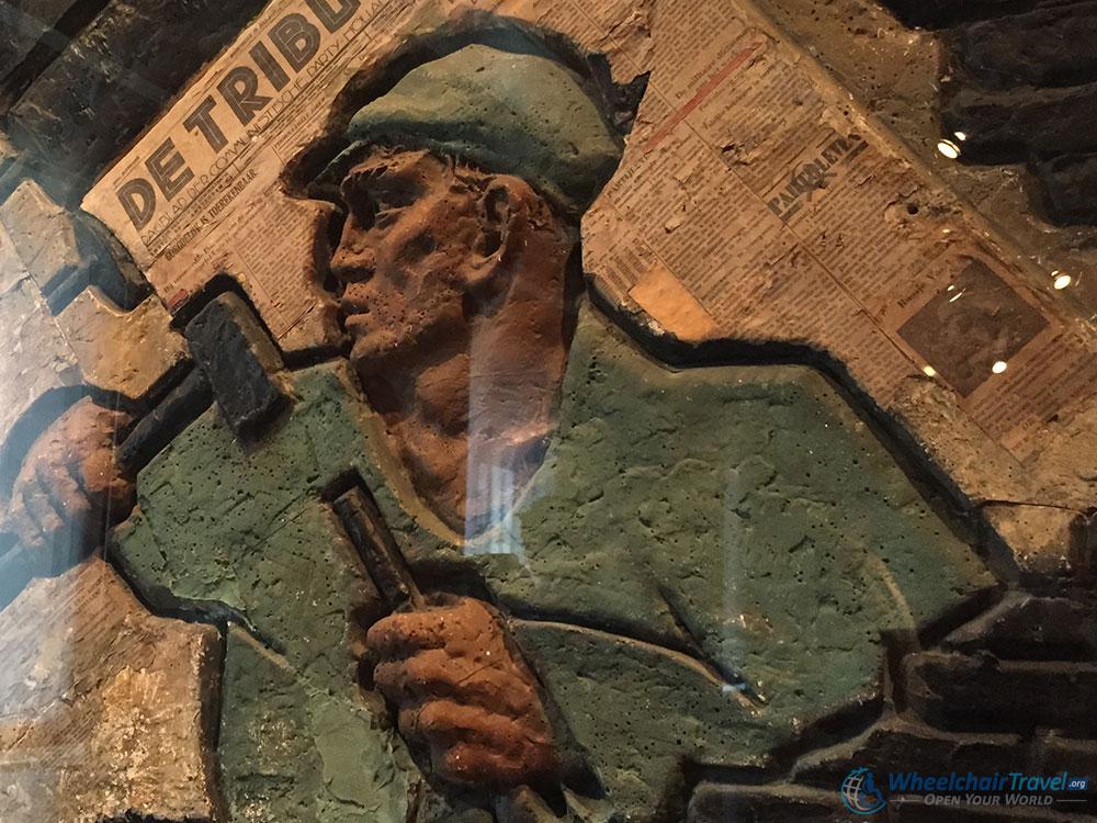 Amsterdam Museum De Tribune Communist Newspaper Piece