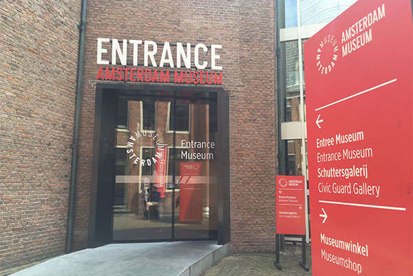 Amsterdam Museum Wheelchair Accessible Entrance