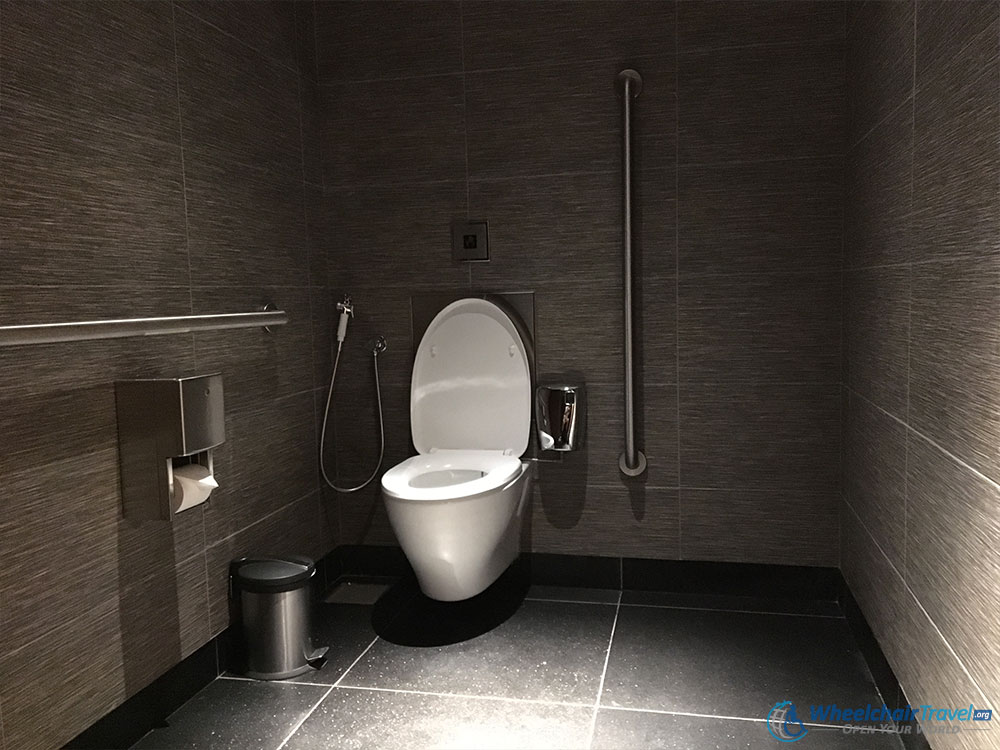 Burj Khalifa Wheelchair Access Bathroom