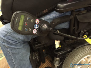 Power Wheelchair Damaged Controls 2015 Delta Air Lines