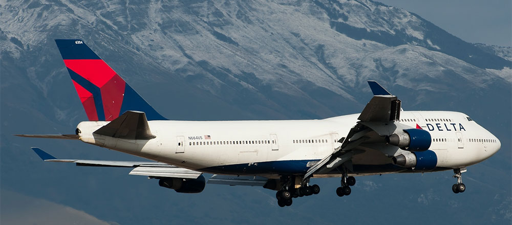 Delta Air Lines, Boeing 747