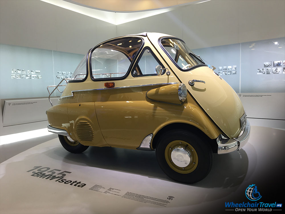 BMW Museum Isetta Bubble Car