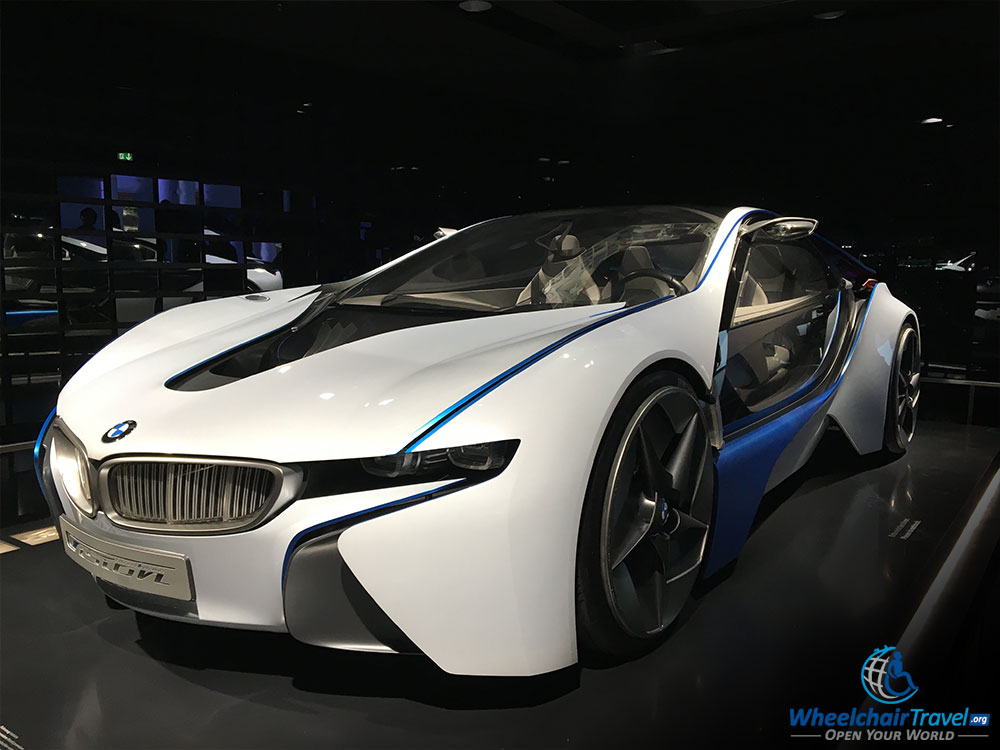 BMW Museum Vision i8 Series Prototype