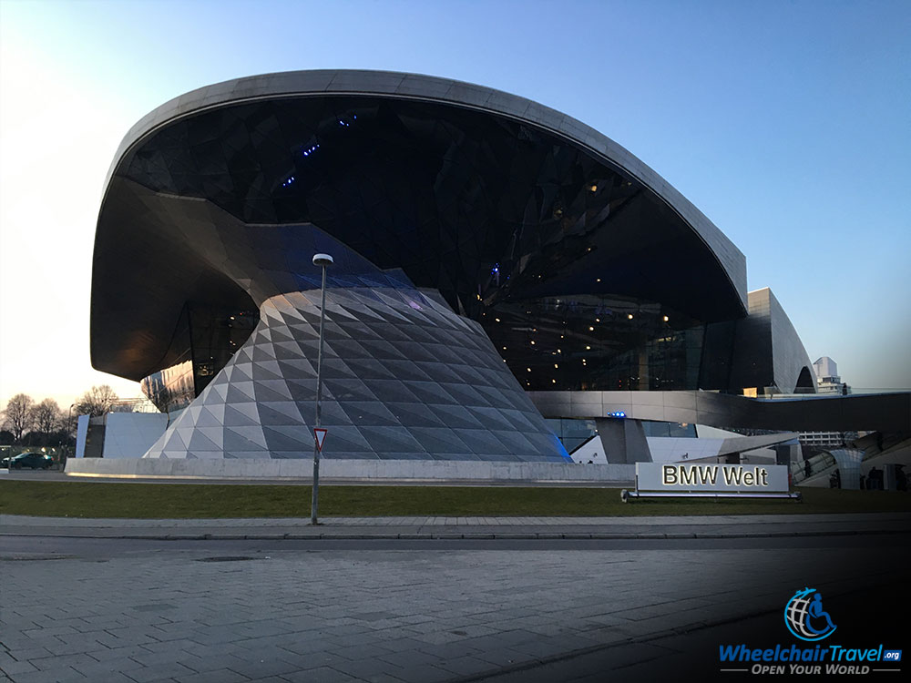 BMW Welt Wheelchair Access Review in Munich