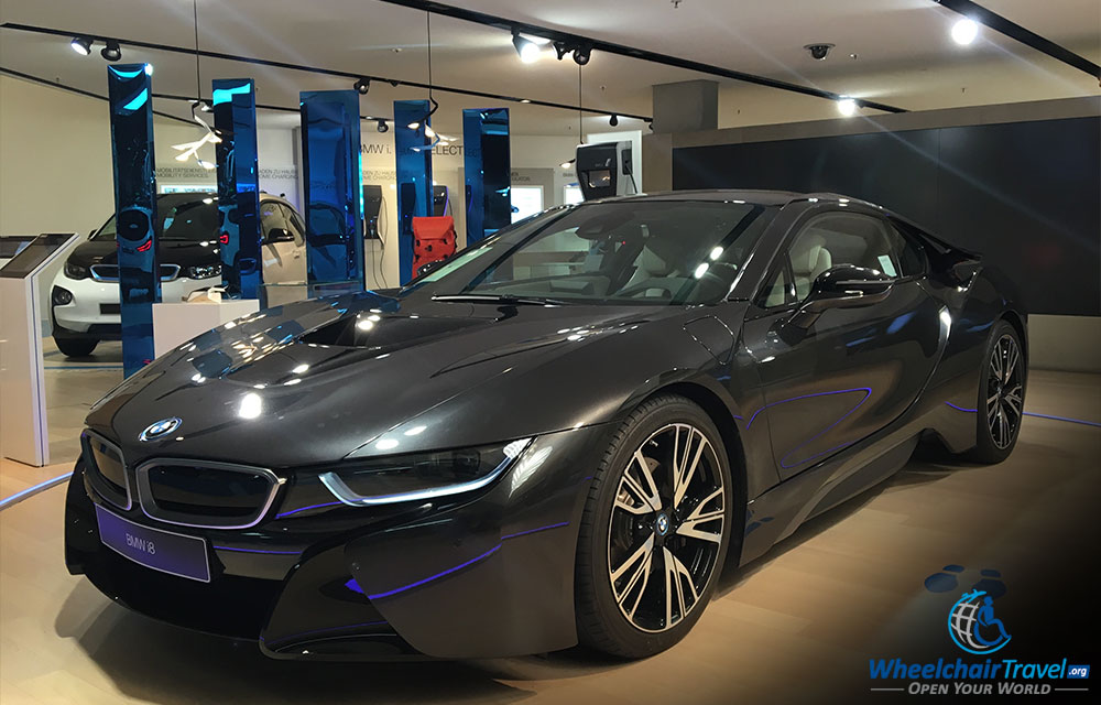 i8 Coupe at the BMW Welt