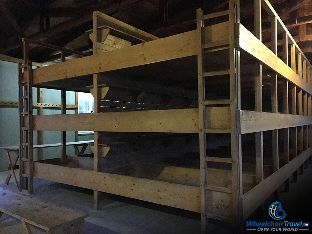 Dachau Barracks Bunks Beds