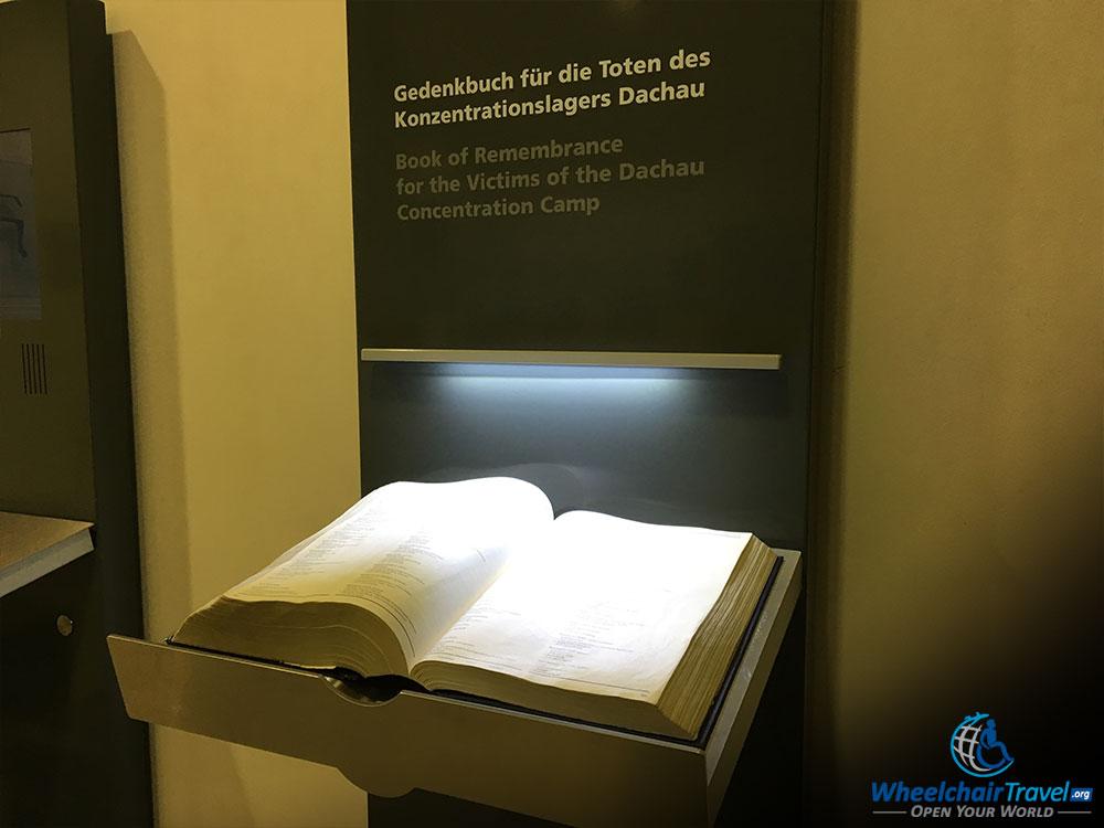Dachau Victims Book of Remembrance