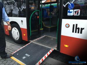 Dachau Bus 726 Wheelchair Access Ramp