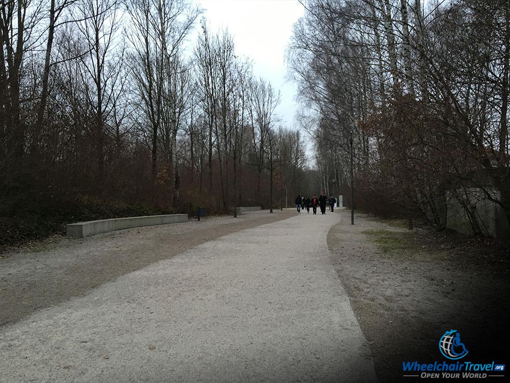 Path to the Dachau Camp Main Gate