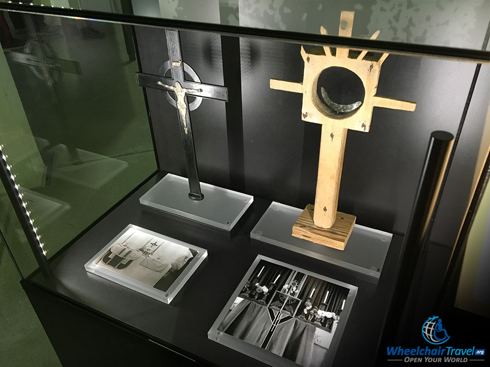 Christian Religious Objects At Dachau Concentration Camp