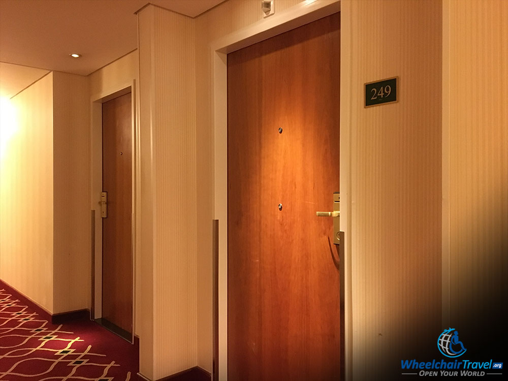 Review Prague Marriott Hotel Wheelchair Access