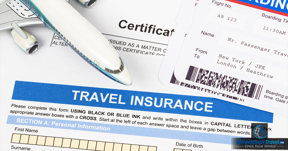 Selecting A Travel Insurance Plan For The Wheelchair User - Coverage ...