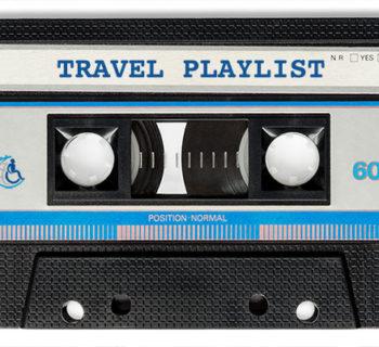 Travel Music Playlist Cassette Tape
