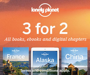 Lonely Planet Guide Books Ad