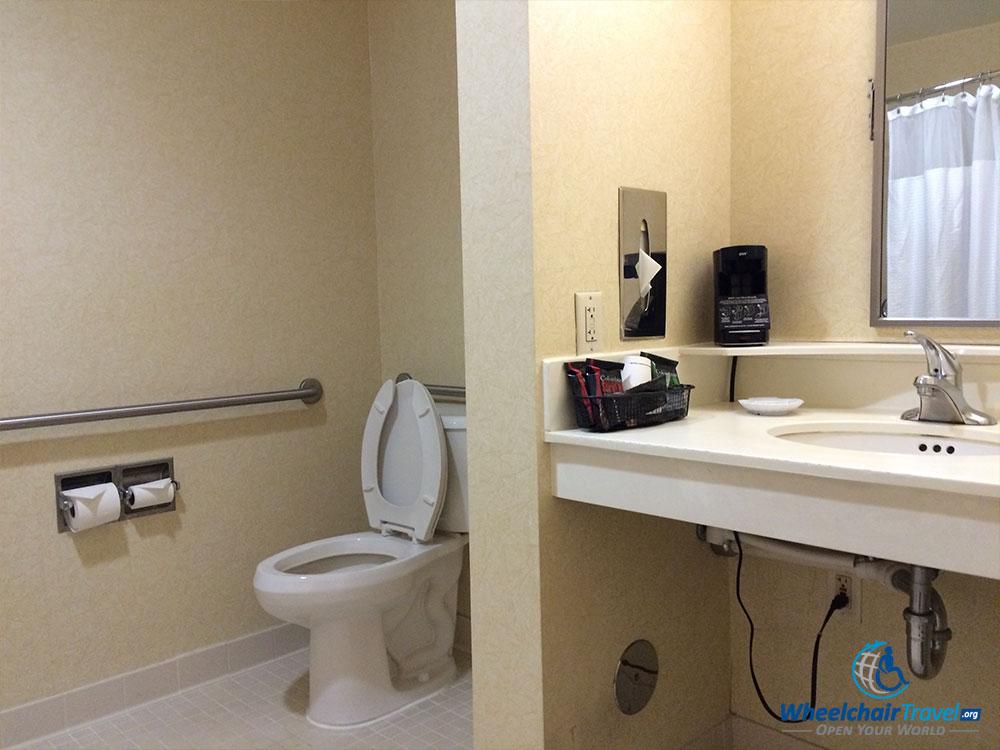 Bathroom Sinks Nj review: courtyard marriott edison, nj - wheelchair access