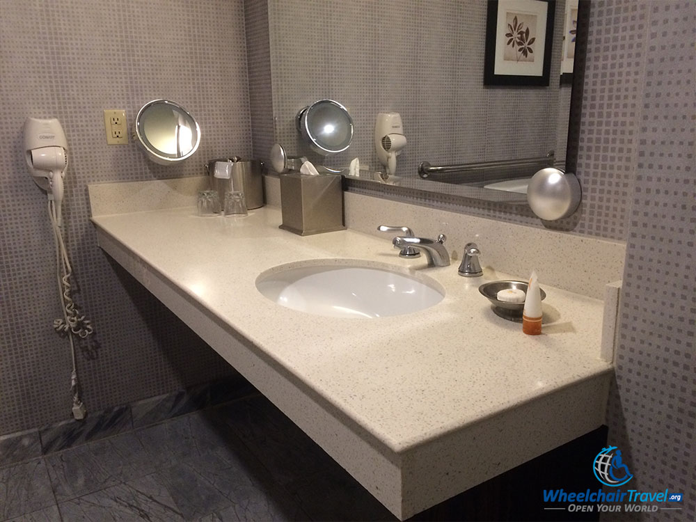 Bathroom Sinks New York City wheelchair access at new york-new york hotel & casino, las vegas