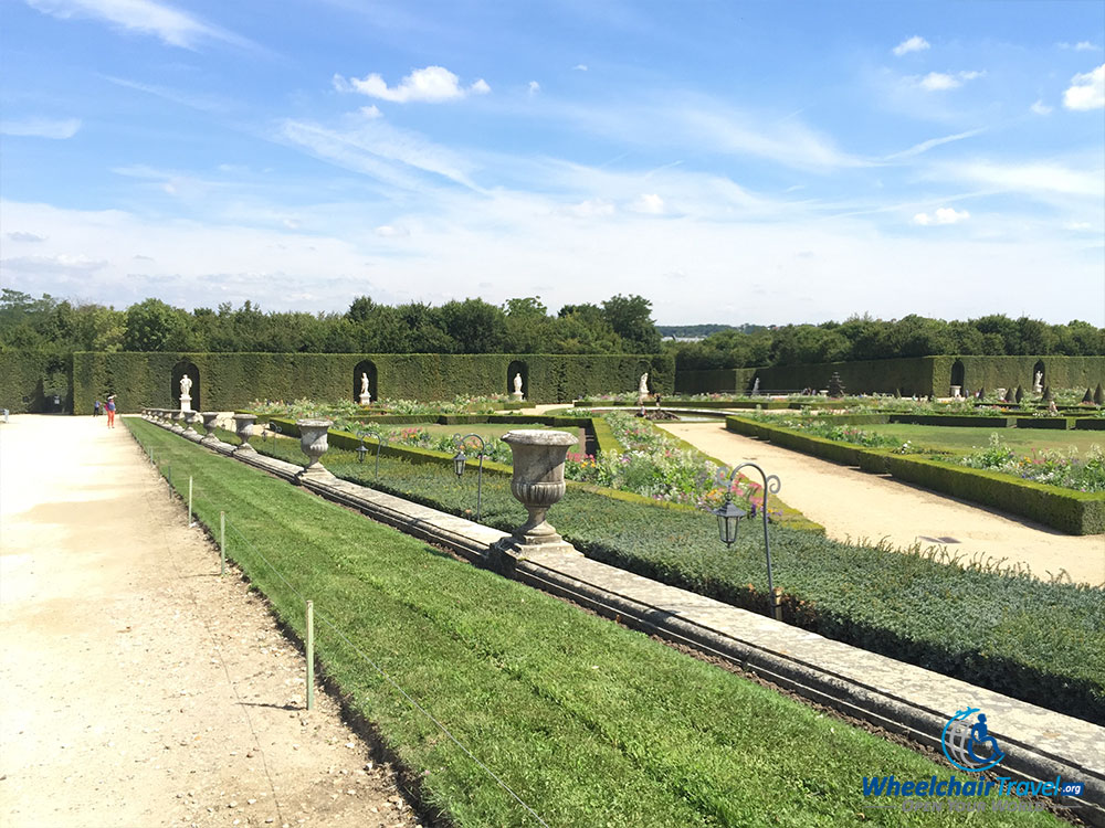 PHOTO DESCRIPTION: Palace of Versailles Gardens in France.