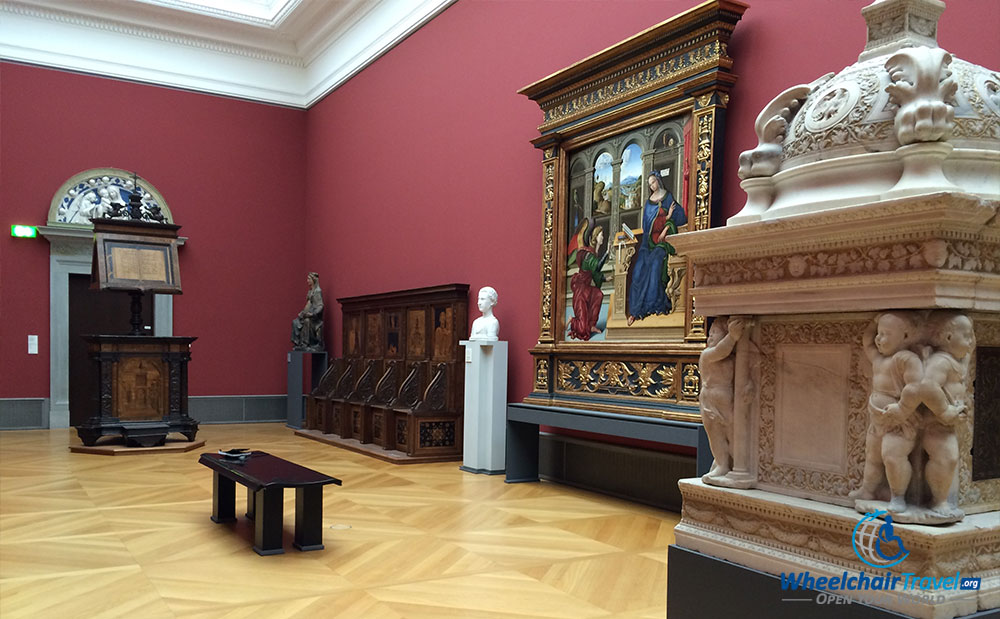 PHOTO DESCRIPTION: Christian religion gallery at the Bode Museum in Berlin, Germany.