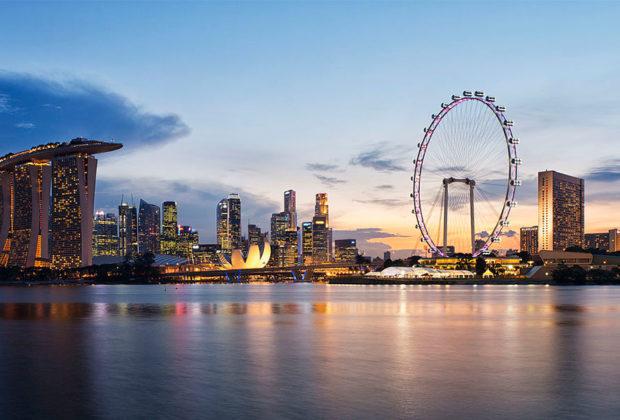 PHOTO DESCRIPTION: Singapore skyline.