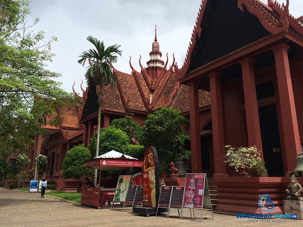 PHOTO: National Museum of Cambodia, building exterior.