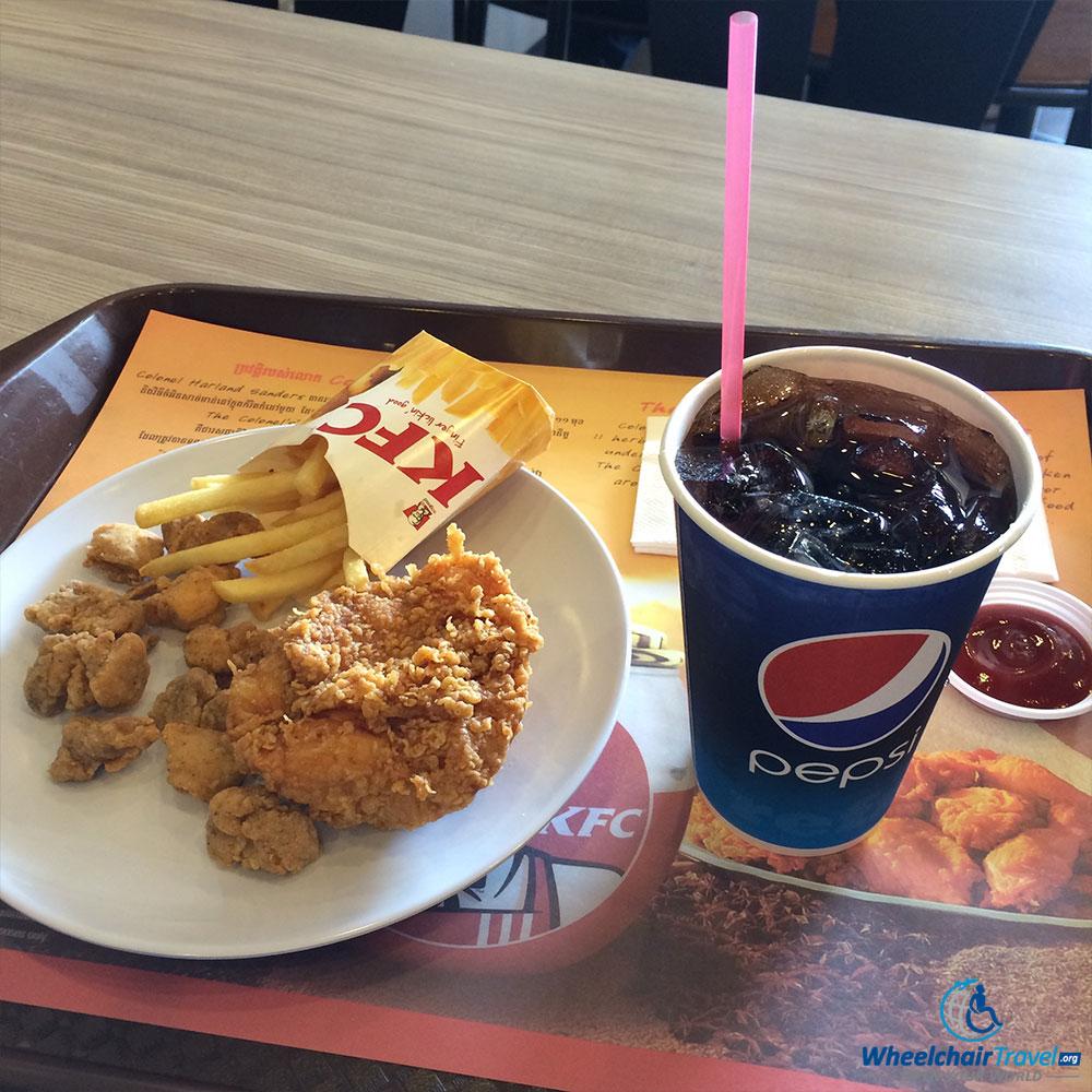 PHOTO: KFC in Phnom Penh, Cambodia.