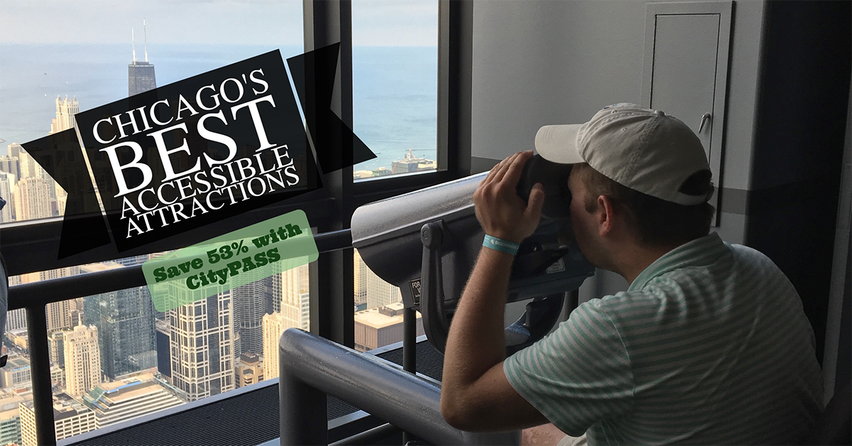 Chicago CityPASS® includes a Fast Pass ticket to Skydeck Chicago and The Ledge glass floor balconies. Skip lines and save 51% with CityPASS®.