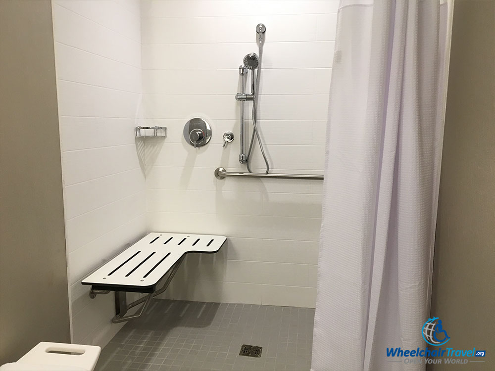 The Good Bad Of Ada Accessible Hotel Bathrooms Wheelchair Travel