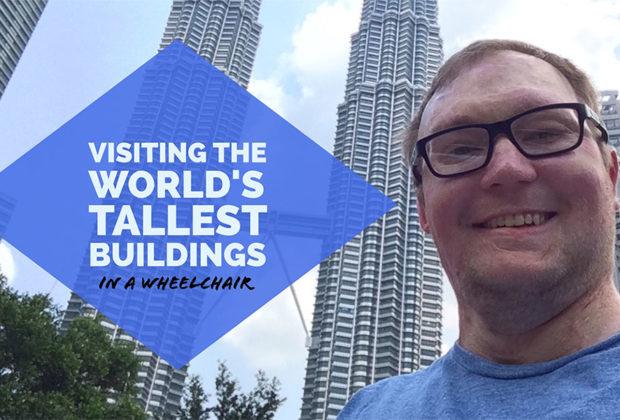 PHOTO: Selfie of John with the Petronas Twin Towers.