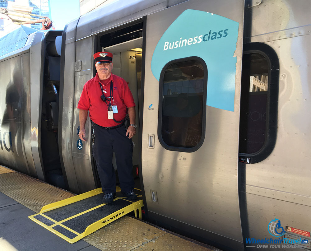 Review Amtrak Acela Express High Speed Train