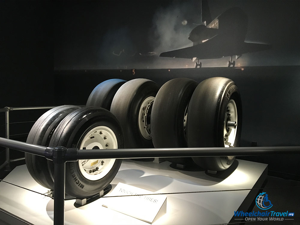 PHOTO: Space shuttle tires.