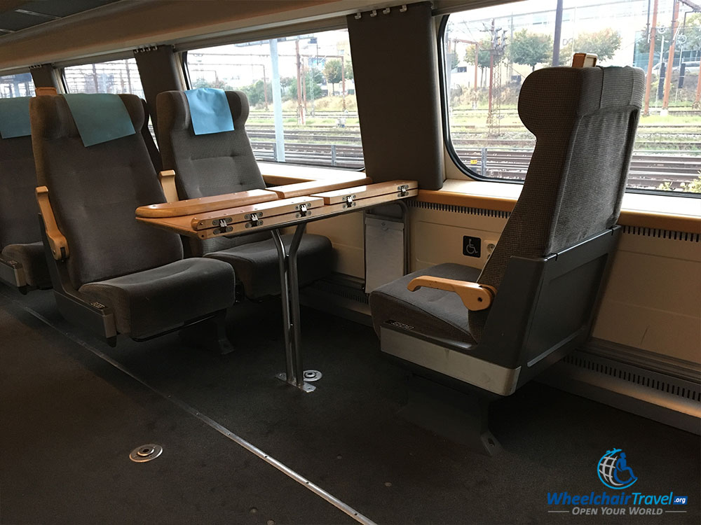 Wheelchair Accessible Sj Train Copenhagen To Stockholm