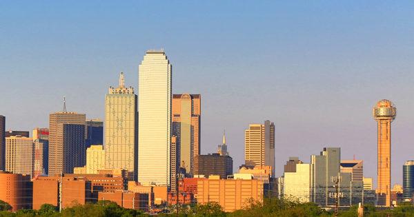 Dallas, Texas skyline.