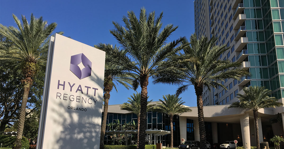 Hotel Review Hyatt Regency Orlando Wheelchairtravel Org