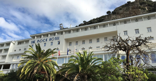 The Rock Hotel in Gibraltar