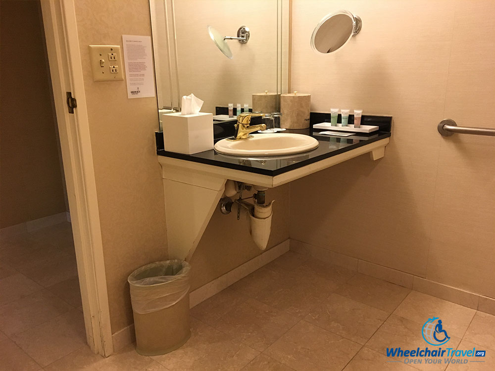 Bathroom Sinks Las Vegas hotel review: monte carlo las vegas resort & casino