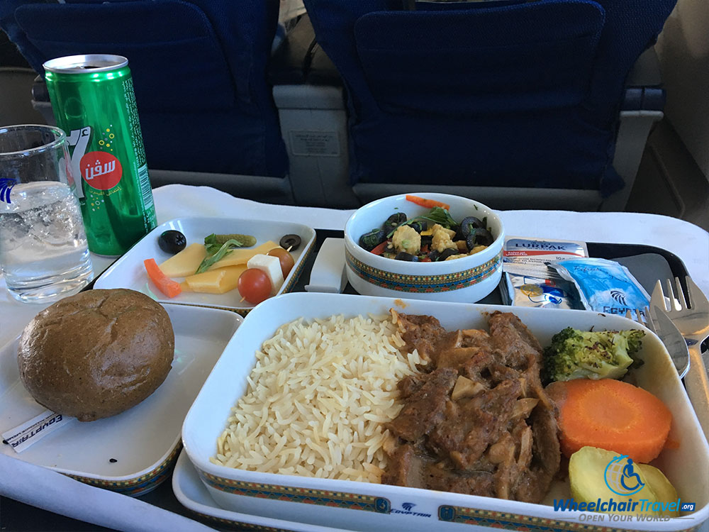 Traveling with a wheelchair on egyptair for Second cuisine