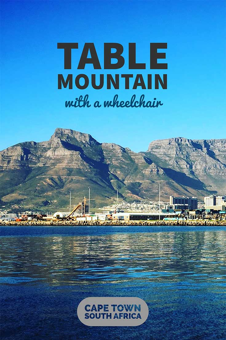 Table Mountain, so-named for its flat top, is a mountain measuring 3,558 feet tall that overlooks and cradles the city of Cape Town, South Africa.
