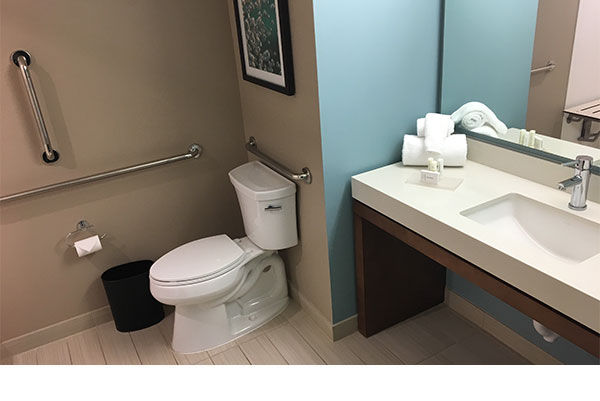 Wheelchair Accessible Hotel Bathroom Designs